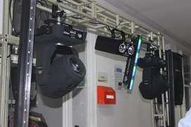 Alquiler de luces y sonido para fiestas y eventos