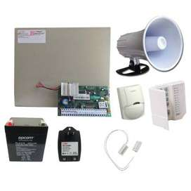 Sistemas de alarmas, cámaras de seguridad, domótica, cercas eléctricas