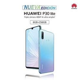 Huawei P30 Lite Plus New Edition -- 6GB de RAM -- 256GB de Almacenamiento -- Un año de garantía -- Entrega Inmediata