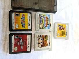 Juegos de Nintendo DS 3DS Mario Sonic Cars 20 dólares cada uno