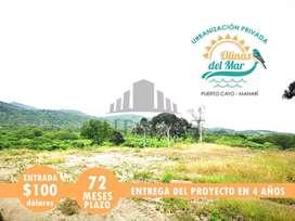 Urbanización Privada A 20 Minutos De Jipijapa Financiado A 72 Meses Plazo En Manabí   SD2