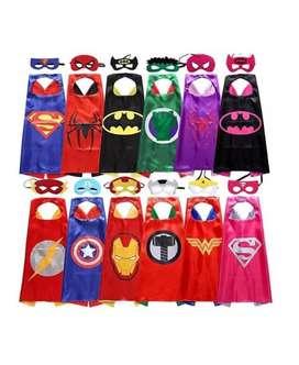 Capa de Superheroes para Adultos Fiestas