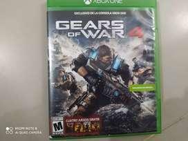 Vendo juego gears of war 4 de Xbox one