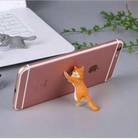 soporte para celulares en gato apoyo anticaidas