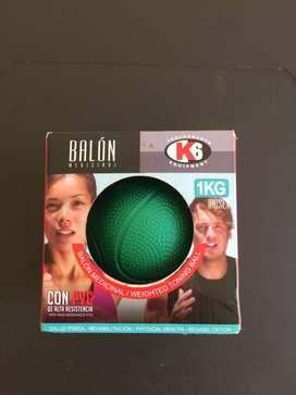 Balon medicinal de 1 kilo