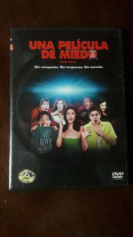 Dvd Pelicula Scary Movie Una Pelicula De Miedo Original