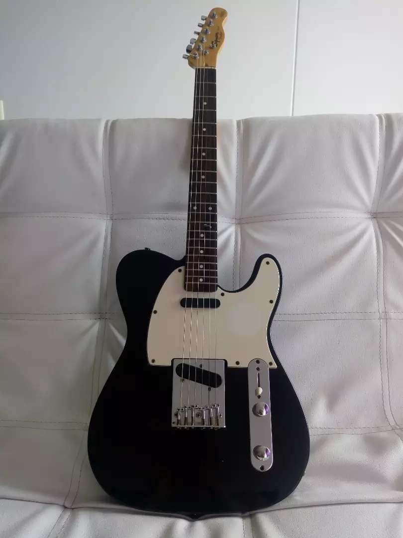 Guitarra electrica squier tele by Fender 0