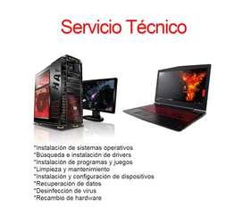Servicio Técnico De Pc / Windows / Instalación / Formateo