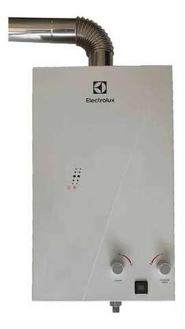 Calentador a gas de 10 Litros Tiro Forzado Electrolux Einb10l3vsap