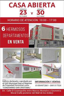 OPORTUNIDAD EDIFICIO POR ESTRENAR 6 DEPARTAMENTOS