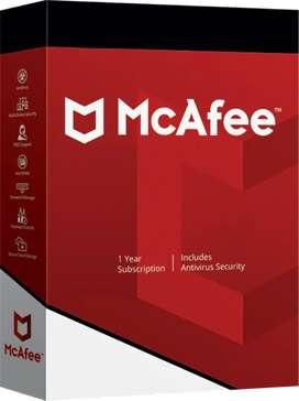 Licencia mcfee 1 pc activacion por 4 años
