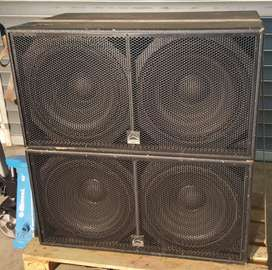 2 Cajas Subwoofer Wharfedale Pro Lx218b