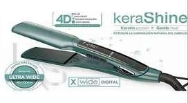 Plancha De Cabello Gama X-wide Digital Kerashine 4d