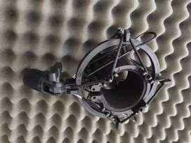 Soporte base para micrófono de condensador tipo araña