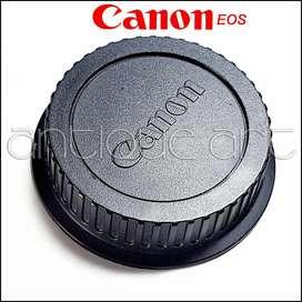 A64 Tapa Posterior Lente Canon Eos Rear Lens Cap