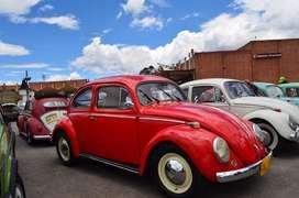 Vendo hermoso clásico  VOLKSWAGEN ESCARABAJO Año 1955 - Oval Color: Rojo Ferrari Puro Motor a gasolina 1600 cv