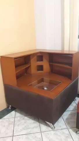 Bar esquinero para muebles