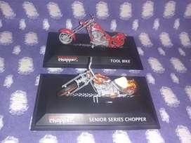 Motos chopper coleccionables