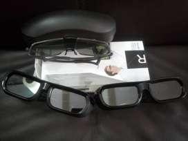 Tres Gafas 3D Sony