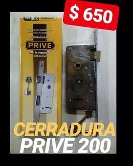 CERRADURA PRIVE 200