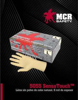 Guante De Latex Talla S - Mcr Safety