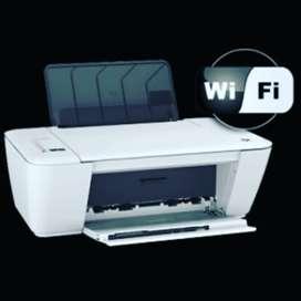 Impresora multifuncional escaner hp