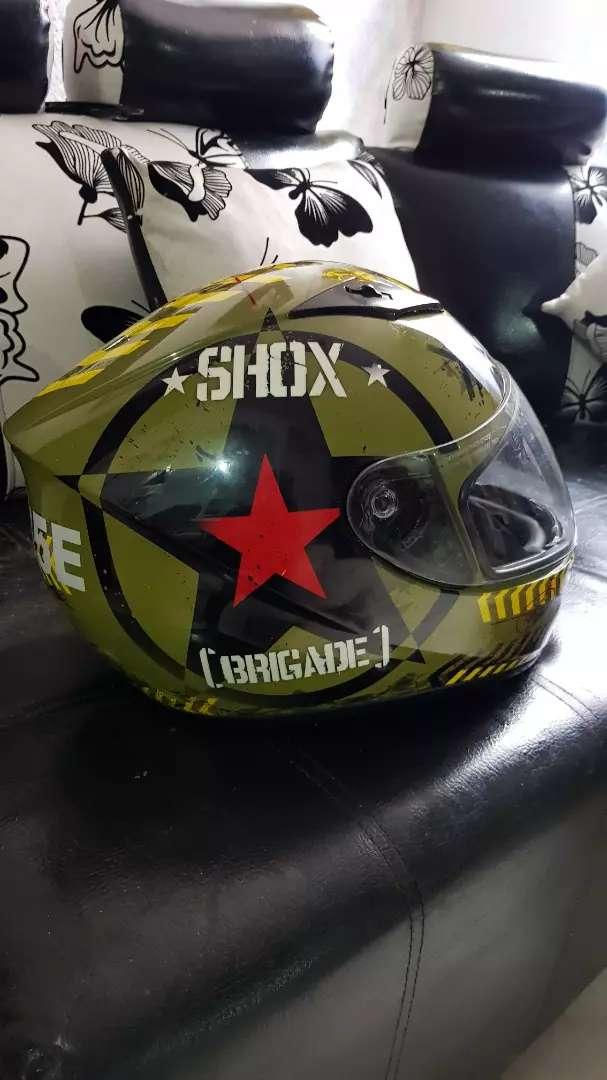 Vendo o cambio casco shox 0