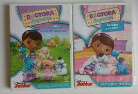 Originales - Lote 2 Dvd Doctora Juguetes - Cdjess