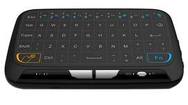 Teclado Y Raton Inalámbrico 2.4ghz Touchpad H18 Smart Tv Nuevo