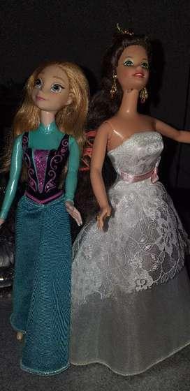 Muñecas barbye americanas