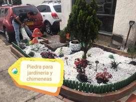 suministramos venta de piedras para jardineria y chimeneas decoracion