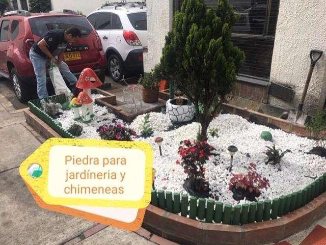 suministramos venta de piedras para jardineria y chimeneas decoracion 0
