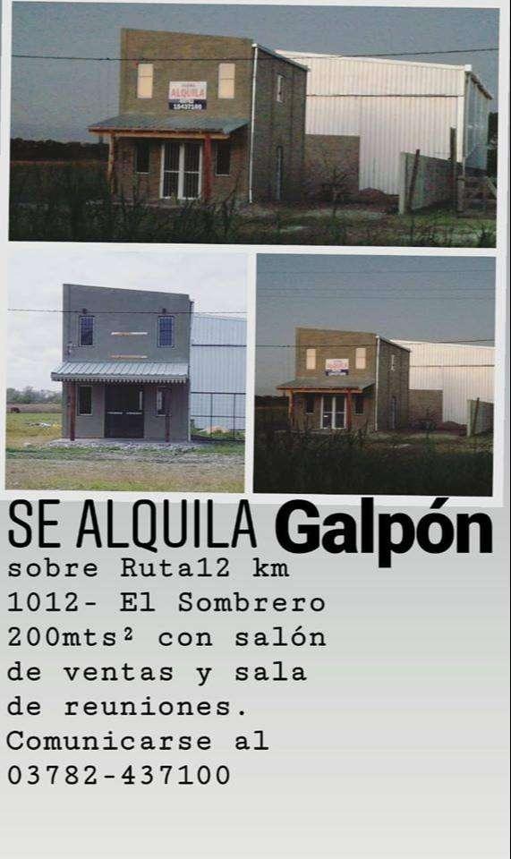 GALPON - OPORTUNIDAD! 0