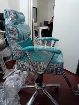 silla para barberia