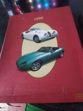 Agenda de autos clásicos 1998