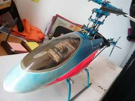 Vendo aeromodelo helicoptero electrico- Trex 450