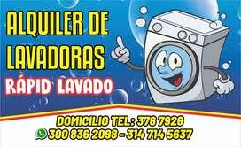 Alquiler de lavadoras sur cali