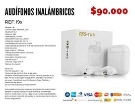 Audífonos inalámbricos i9s