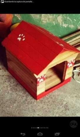 Casas en Madera para Mascotas