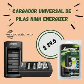 Cargador universal de pilas NimH Energizer