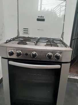 Cocina Mabe 4 hornillas 2 meses de USO