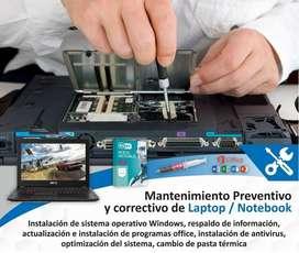 SERVICIO TÉCNICO DE COMPUTADORAS / PORTATILES / IMPRESORAS - SISTEMA DE SEGURIDAD / CÁMARAS DE SEGURIDAD - CCTV