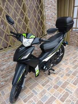 Vendo moto  victory advance 110 personalizada.