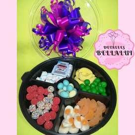 Caja de dulces personalizada