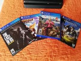 Vendo PS4 SLIM de 500gb