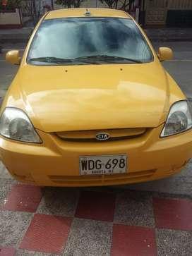 Taxi kia rio