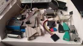 Conector, cable, adaptador