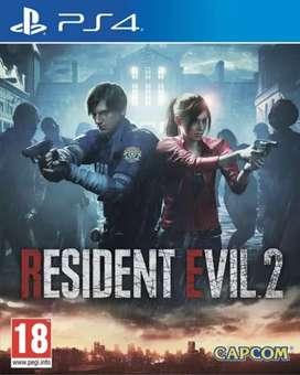 Resident evil 2 ps4 (Físico)