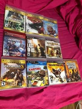 Juegos PS3 usados. NO PERMUTO