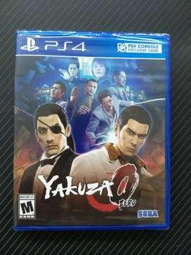 Yakuza 0 - Juego PS4 original, nuevo y sellado